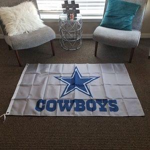 Dallas Cowboys Big Blue Star Banner New 3x5 F25